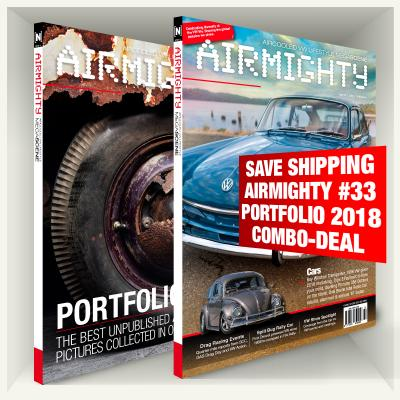 SAVE SHIPPING COSTS Airmighty #33 + Portfolio 2018 Combo