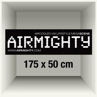 AirMighty Banner 175x50cm black