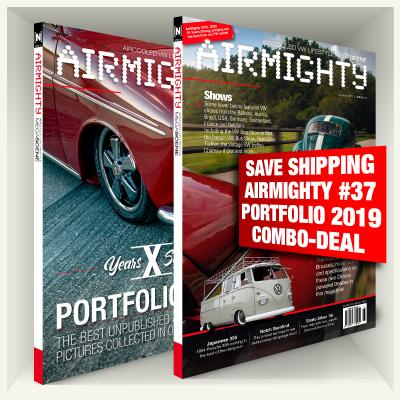 SAVE SHIPPING COSTS Airmighty #37 + Portfolio 2019 Combo
