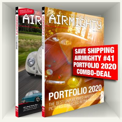 SAVE SHIPPING COSTS Airmighty #41 + Portfolio 2020 Combo