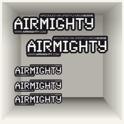 AirMighty Megascene Sticker Set (5)