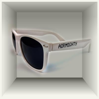 AirMighty Sunglasses - WHITE