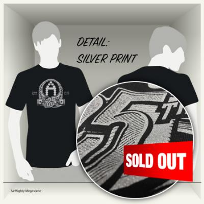 AirMighty T-Shirt - 25th Issue - SOLD OUT