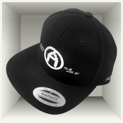 AirMighty Snapback 'Read it  Wear it  Roll with it!' - Black
