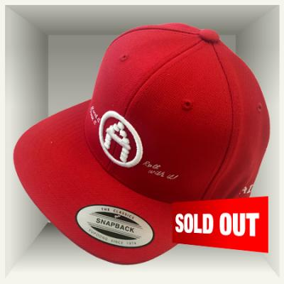 AirMighty Snapback 'Read it  Wear it  Roll with it!' - RED